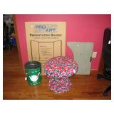 Center Bedroom  Stool, Waste can, etc.