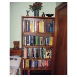 North Bedroom Left  Book Case, Books