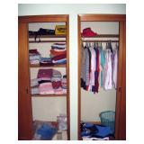 North Bedroom Left  Clothes