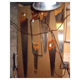Garage  Vintage Saws