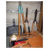 Garage  Yard tools