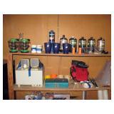Garage  Camping stuff,  Altec Lansing Speakers w/Woofer