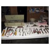 Garage  Tool Box, J. H. Williams Sockets,