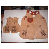 Toy Room Right  Ruffn Ready Vest & Chaps