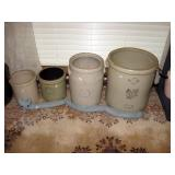 Dining Room   Crocks, Ice Cream Maker, Wood Bucket
