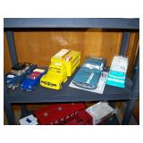 Toy Room Right Gama 300 Cadillac, VW Convert, Coca-Cola Truck, Mustang GT (gas), Andy Gard Kennels