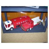 Toy Room Right  Texaco Tanker Truck, Buddy L Repair it service truck