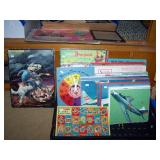Toy Room Right  Puzzles, Long Ranger, Planes, Fire Truck, Jet Planes, Clock, Disney