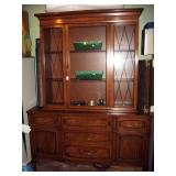 Basement Back Room  Beautiful China Cabinet