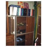 Basement Back Room  Note Books, Storage Cabinet