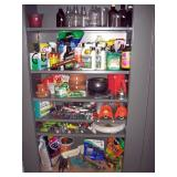 Basement Left  Garden Chemicals, Glass Bottles, Garden tools & stuff