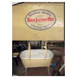 Basement Back Room Baskenette (Bassinet) by Burlington Basket Co.