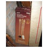 Basement Back Room Fireplace Tools (used)