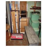 Basement Back Room  Quik Cement, Wood