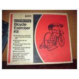 Basement Back Room  Vintage Sears Bicycle Exerciser Kit (New Old Stock))