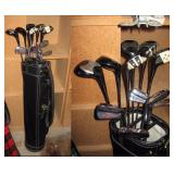 Basement Right  Jimmy Cooper Golf Clubs (Some never used)