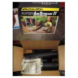 Basement Right  New McCulloch Leaf gas Blower w/box