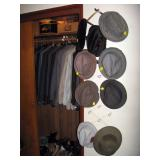 First Bedroom Right  Hats, Suits