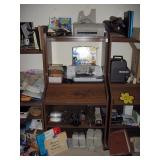 Back Bedroom Left  Flight games, Printers Lemark & HP A-10, Comshare (new), Speakers