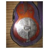 Basement:  Resonator guitar chrome cove
