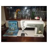 Basement:  Singer sewing machine