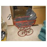 UpStairs Bed Room:  Doll buggy