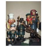 Basement:  Nutcrackers