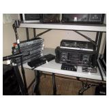 Basement:  6 Phonic plc3200, cs-800,