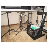 Basement: Guitar Stands, Sheet Music,