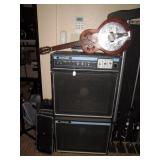 Basement:  Acoustic Speakers Model 220, ReSounder Guitar