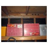 Garage:  Parts & nuts, bolts boxes