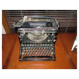 Upstairs Hall:  Underwood Typewriter