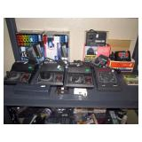 Basement:  7 Transformers-Lionel 1.8 , MRC Tech 2, Railpower 1300, Spectrum Magnum, Circuitron bd-1