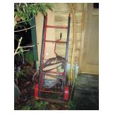 OutSide:  Heavy Duty Appliance Hand cart