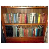 Living Room  Vintage Books (Some in the 1800