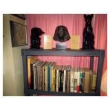 Living Room  Egyptian Books on Tutankhamun, Pyramids, Tombs of Kings, etc.