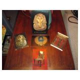 Living Room  Post Cards of Tutankhamun