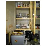 Kitchen  Glasses, Cups, Coffee Maker, Microwave Oven