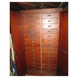 Basement  Beautiful Vintage Cabinet with 24 Drawers (Great Condition)