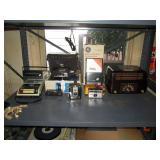 Bed Room Left  Bakelite GE Radio Model 100, Bell & Howell Super 8 Autoload #311, Kodak #