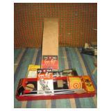 Bed Room Left:  Tri-Pak Vintage Gun Cleaning Kit
