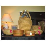 Living Room:  Baskets
