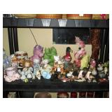 Living Room: Ceramic animals