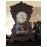 Living Room:  Kitchen Clock-New Haven Clock Co. 8 Day Cunard Line (not working)