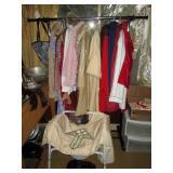Back Bed Room:  Coats, Dresses, etc.
