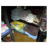 Back Bed Room:  Blankets, Sheets