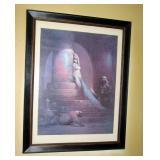 Living Room:  Egyptian Poster