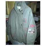 Back Bed Room:  IZZI Bomber Coat