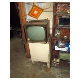 Basement:  Old TV
