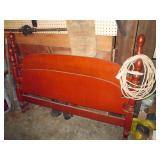 Basement:  Wood Bed Head & Foot Board